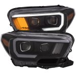 Toyota Tacoma  SR 2016-2020 Black Projector Headlights