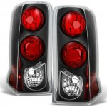 Cadillac Escalade 2002-2006 Black Euro Tail Lights