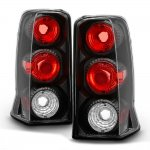 Cadillac Escalade 2002-2006 Black Altezza Tail Lights