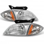 2002 Chevy Cavalier Euro Headlights