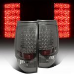 Chevy Tahoe 2007-2014 Smoked LED Tail Lights
