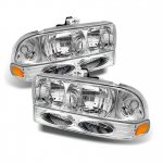 Chevy S10 1998-2004 Chrome Headlights and Bumper Lights