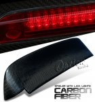 1993 Honda Civic Hatchback Carbon Fiber Spoiler with LED