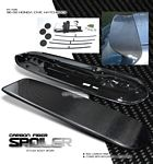 Honda Civic Hatchback 1996-2000 Spoon Style Carbon Fiber Spoiler