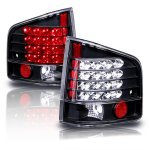GMC Sonoma 1994-2004 Black LED Tail Lights