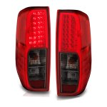 Nissan Frontier 2005-2017 LED Tail Lights Red and Smoked