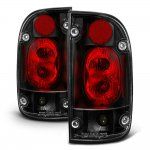 Toyota Tacoma 1995-2000 Black Altezza Tail Lights