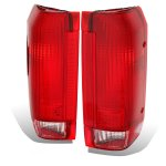 1992 Ford F150 Red Taillights