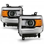 2014 GMC Sierra Projector Headlights