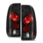 Ford F150 1997-2003 Black Altezza Tail Lights