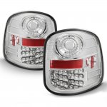 Ford F150 Flareside 1997-2003 LED Tail Lights Chrome