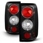 2005 Ford F150 Black Altezza Tail Lights