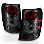 Jeep Grand Cherokee 1999-2004 Smoked Altezza Tail Lights