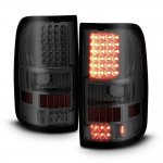 2005 Ford F150 Smoked LED Tail Lights