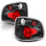 Ford F150 Flareside 1997-2000 Black Custom Tail Lights