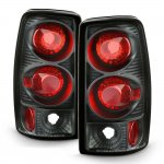Chevy Suburban 2000-2006 Black Altezza Tail Lights