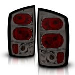2004 Dodge Ram Smoked Custom Tail Lights