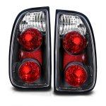 Toyota Tundra 2000-2004 Black Custom Tail Lights