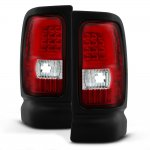 Dodge Ram 1994-2001 Tube LED Tail Lights