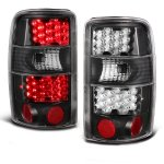 Chevy Tahoe 2000-2006 Black LED Tail Lights