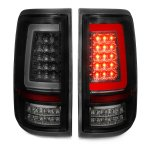 2005 Ford F150 Black Smoked LED Tail Lights Tube