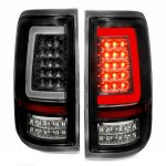 2005 Ford F150 Black LED Tail Lights Tube