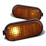 1994 Honda Civic Smoked Amber Signal Lights