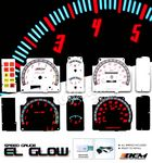 Nissan Hardbody 1987-1992 Glow Gauge Cluster Face Kit