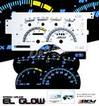 Chevy 1500 Pickup 1992-1994 Glow Gauge Cluster Face Kit