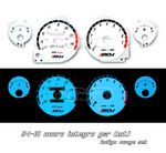 1998 Acura Integra LS Glow Gauge Cluster Face Kit