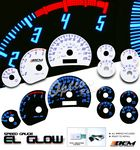Chevy Silverado 2003-2006 Glow Gauge Cluster Face Kit