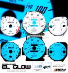 2000 Honda Civic Glow Gauge Cluster Face Kit