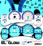 Chevy S10 1998-2000 Glow Gauge Cluster Face Kit