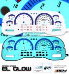 2000 Dodge Ram Glow Gauge Cluster Face Kit