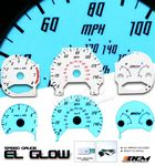 2002 Honda Accord Glow Gauge Cluster Face Kit