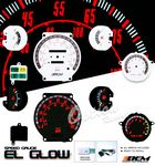 Nissan Hardbody 1986-1992 Glow Gauge Cluster Face Kit