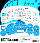 2000 Chevy Suburban Glow Gauge Cluster Face Kit