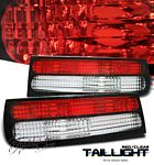 Nissan 300ZX 1990-1996 Red and Clear Tail Lights