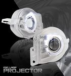 2006 BMW E90 Sedan 3 Series Halo Projector Fog Lights