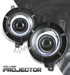 Lincoln Navigator 1998-2002 Halo Projector Fog Lights