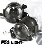 2007 BMW 3 Series Sedan Black Projector Fog Lights