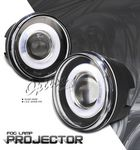 2009 Jeep Grand Cherokee Halo Projector Fog Lights