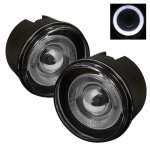2007 Jeep Commander Smoked Halo Projector Fog Lights