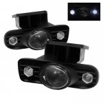 2000 GMC Sierra Smoked Halo Projector Fog Lights with LED
