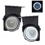 GMC Sierra 3500 2003-2006 Clear Halo Projector Fog Lights