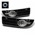 VW Jetta 1999-2005 Clear Halo Projector Fog Lights