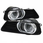 Toyota Camry 2007-2009 Clear Halo Projector Fog Lights