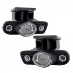 GMC Sierra 1500HD 2001-2002 Clear Projector Fog Lights with LED