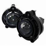 Chevy Impala 2006-2012 Smoked Projector Fog Lights Kit