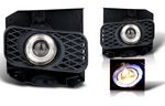 Ford F150 1999-2003 Smoked Halo Projector Fog Lights
